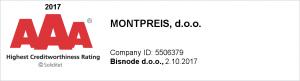 Bonitetna ocena Montpreis