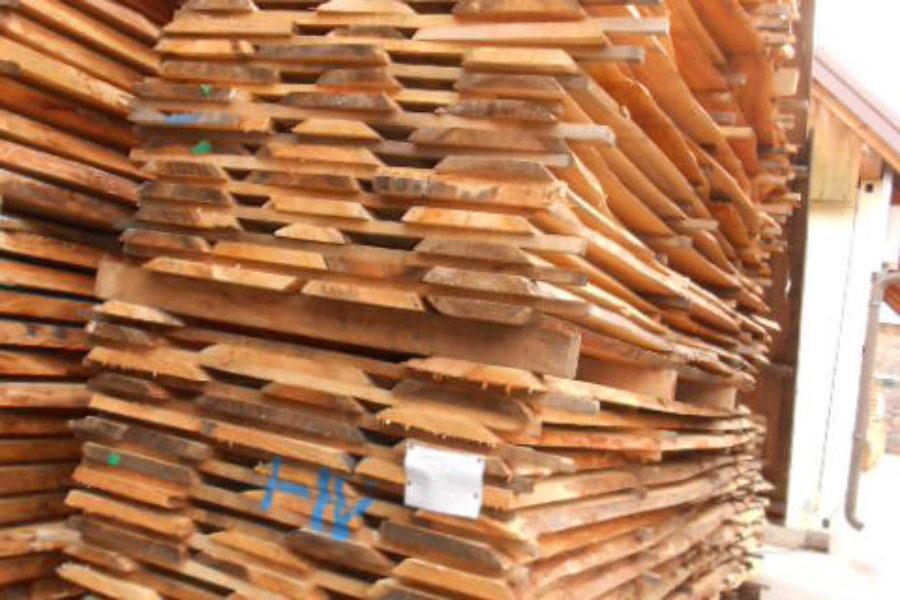 Kirschenschnittholz